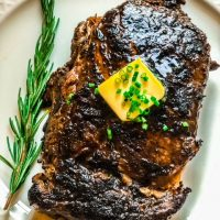 Blackened Ribeye Steak