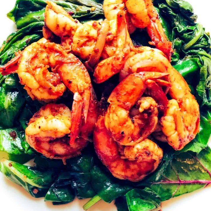 Curried-Shrimp-Scampi