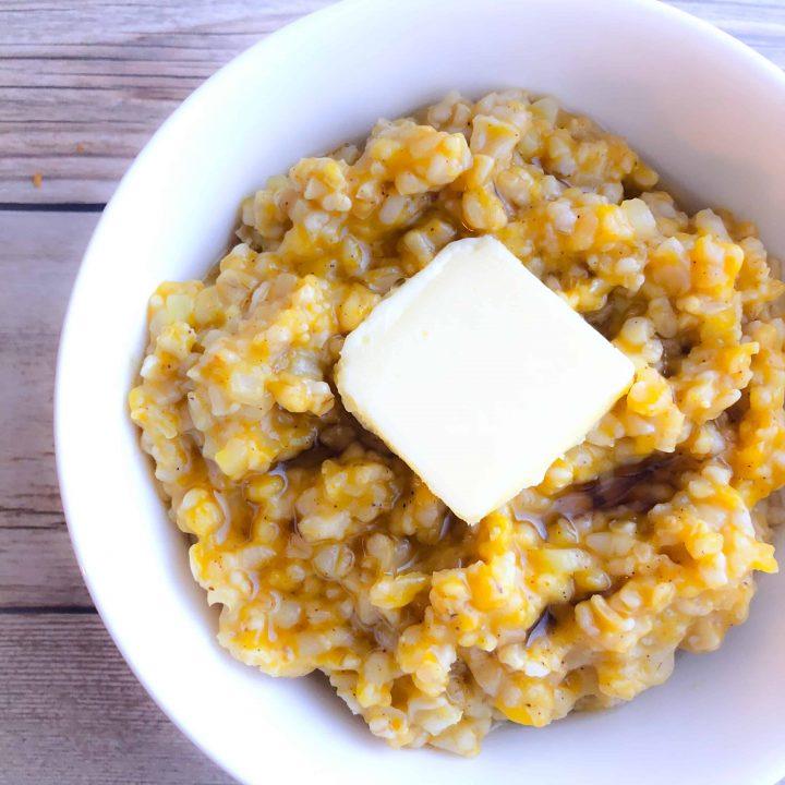 Pumpkin-Cauliflower-Oatmeal