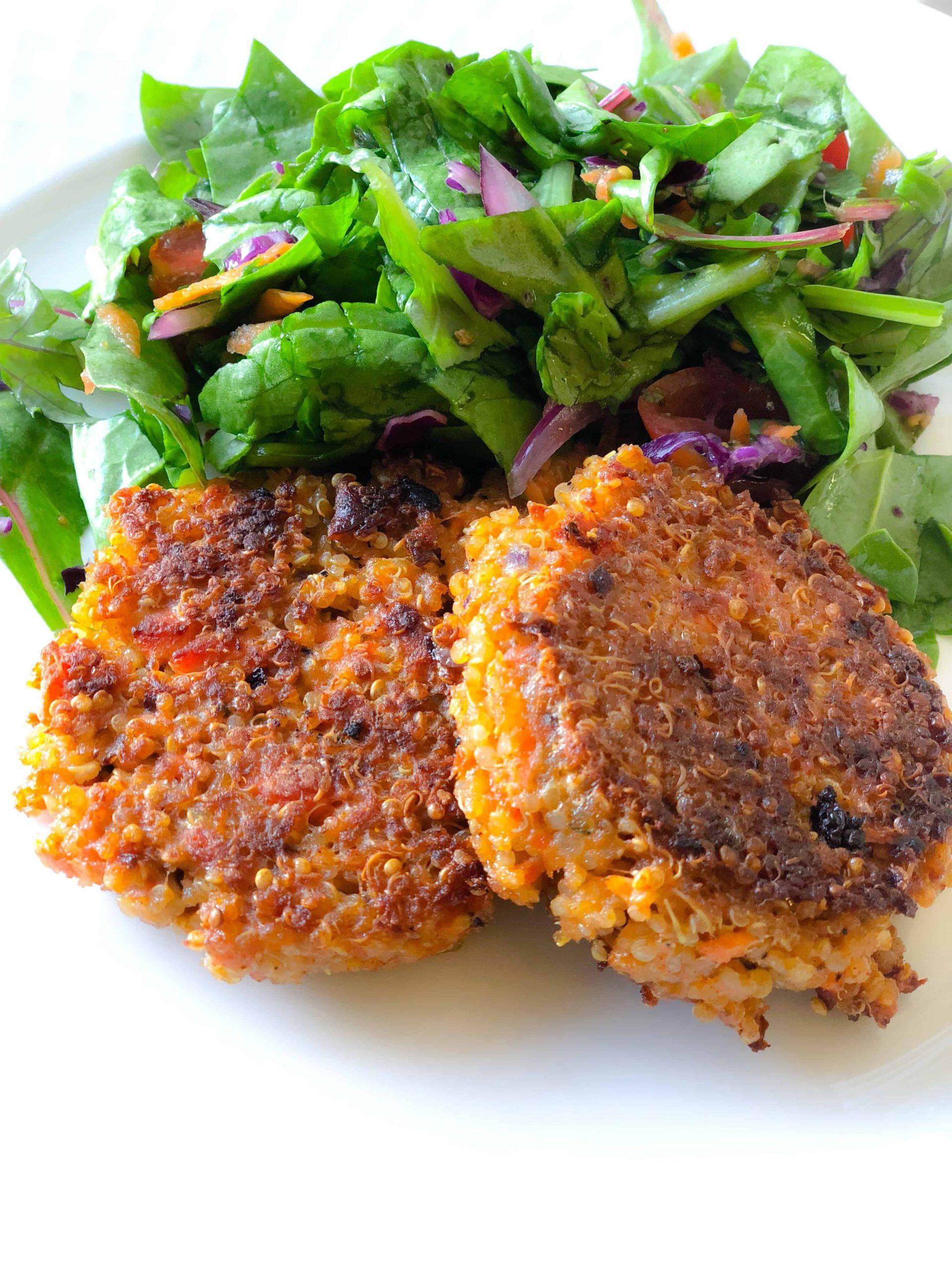 Salmon-Quinoa-Croquettes